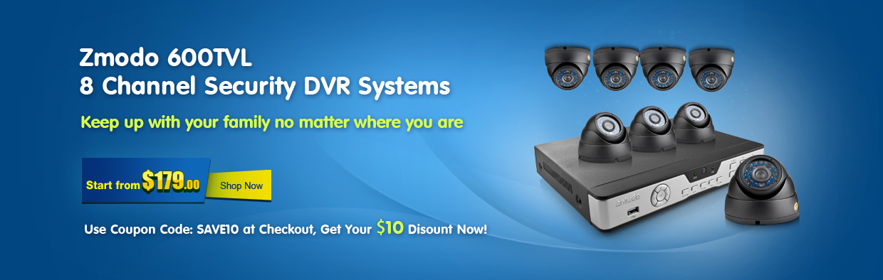 600TVL Security Systems