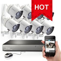 8 Channel 720P Security NVR System