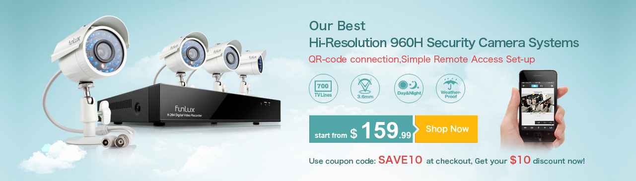 Our Best 700TVL 960H Security Systems