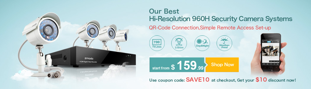 Our Best 700TVL Security Camera