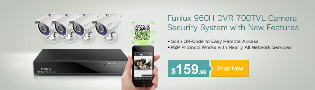 Funlux 960H Security Camera Systems