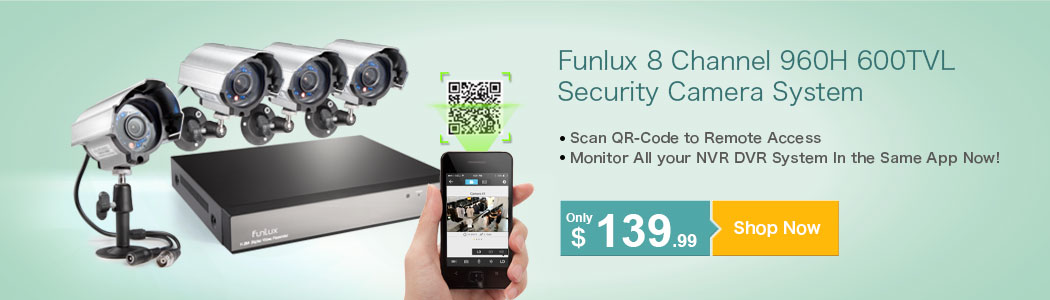4 Channel 960H Security Systems